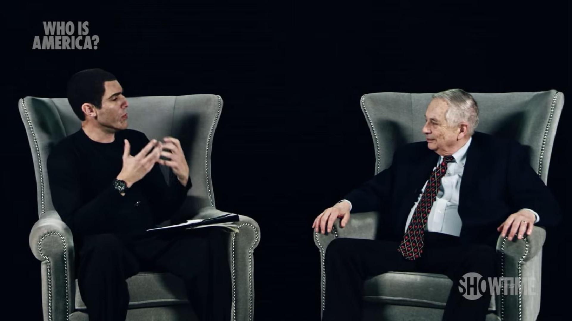 Sacha Baron Cohen, a brincar, pôs vários políticos numa situação séria