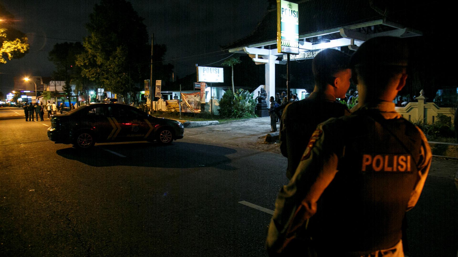 Onze mortos em operação contra crime de rua na Indonésia