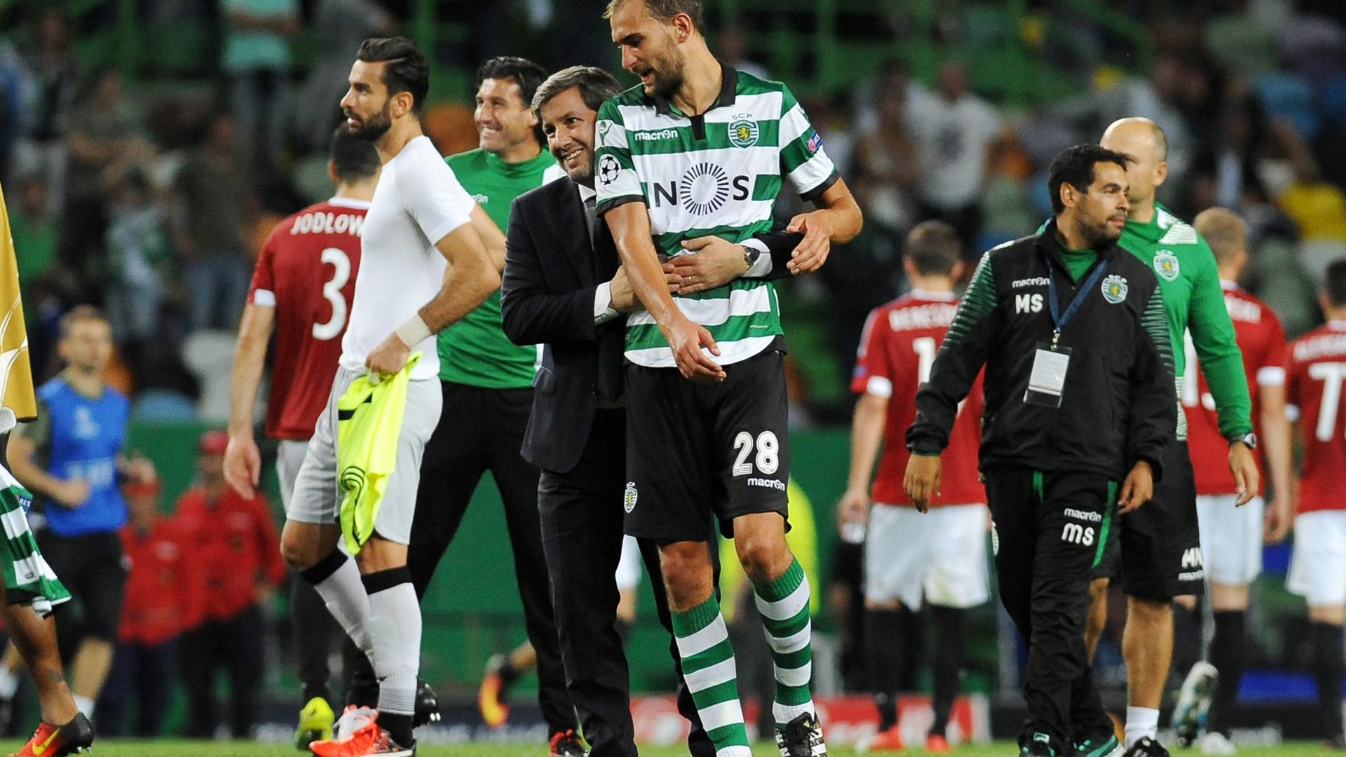 Dost regressa... sem Bruno de Carvalho no horizonte