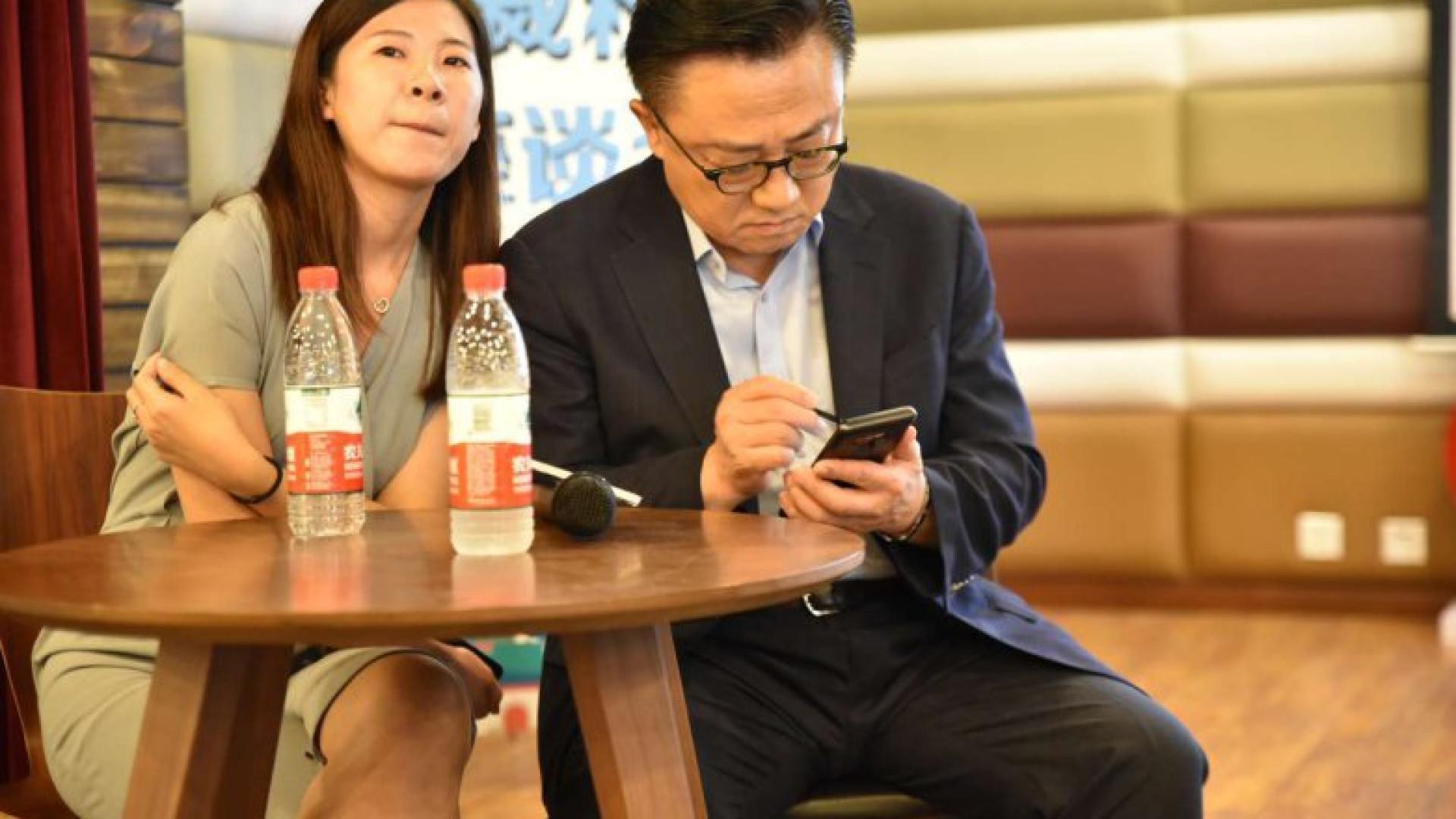 Executivo da Samsung já tem um Galaxy Note 9
