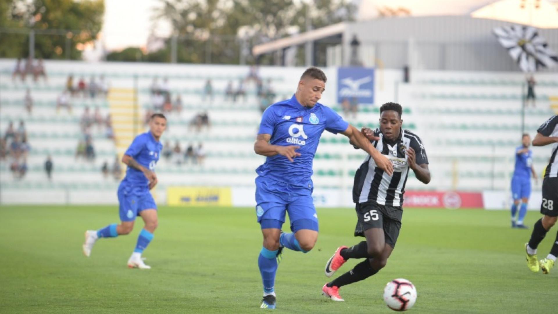 Portimonense inflige primeira derrota na pré-época ao FC Porto