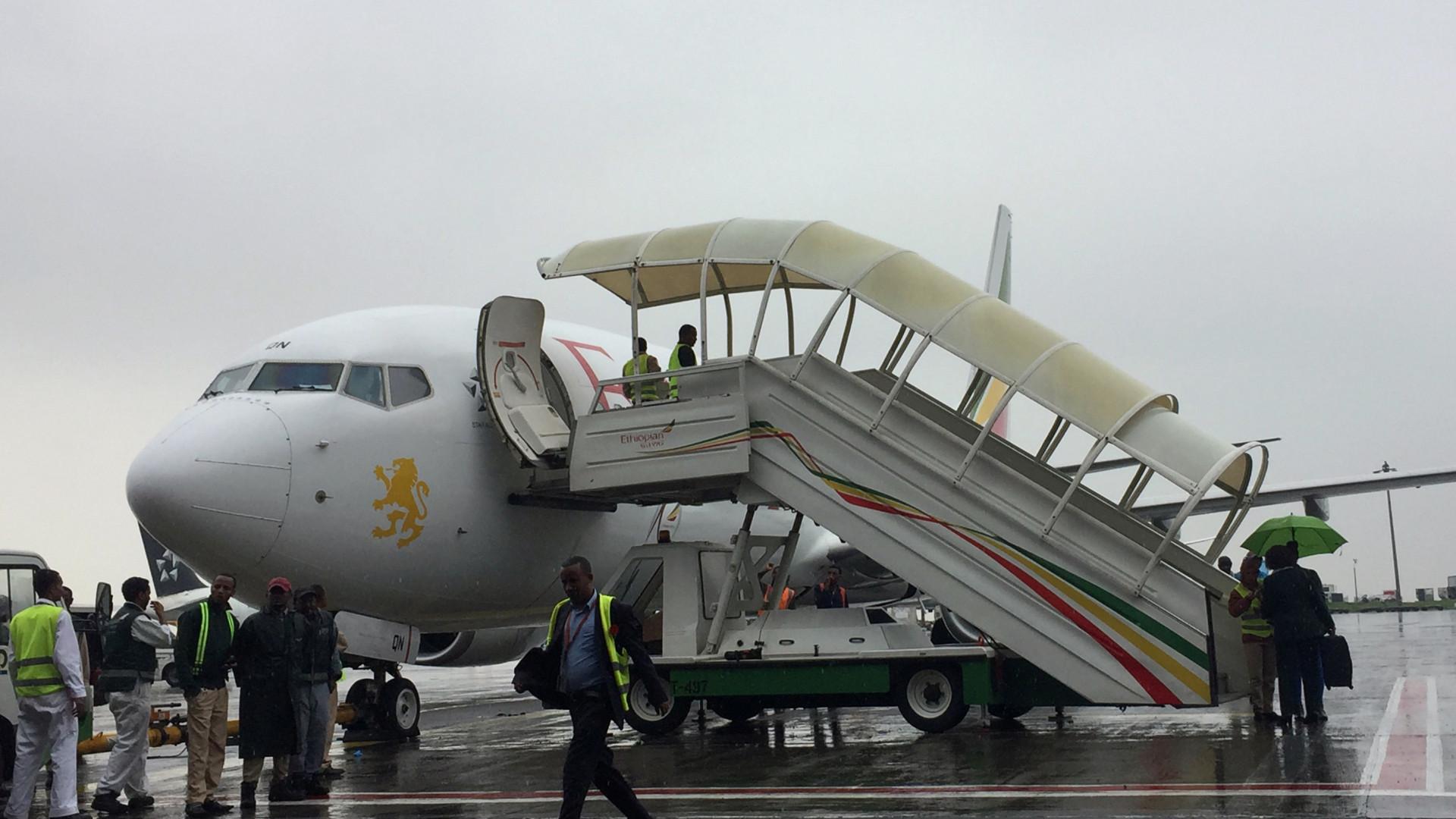 Realizou-se hoje o primeiro voo entre a Etiópia e Eritreia em 20 anos