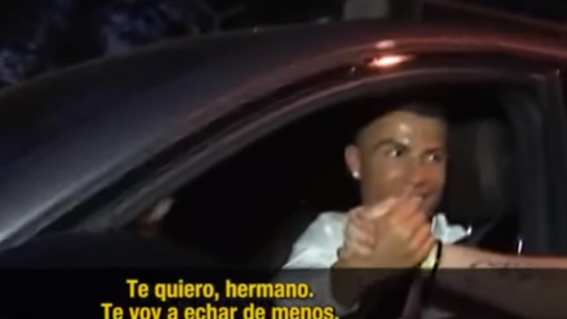 A bonita e emocionante conversa entre CR7 e um adepto do Real Madrid