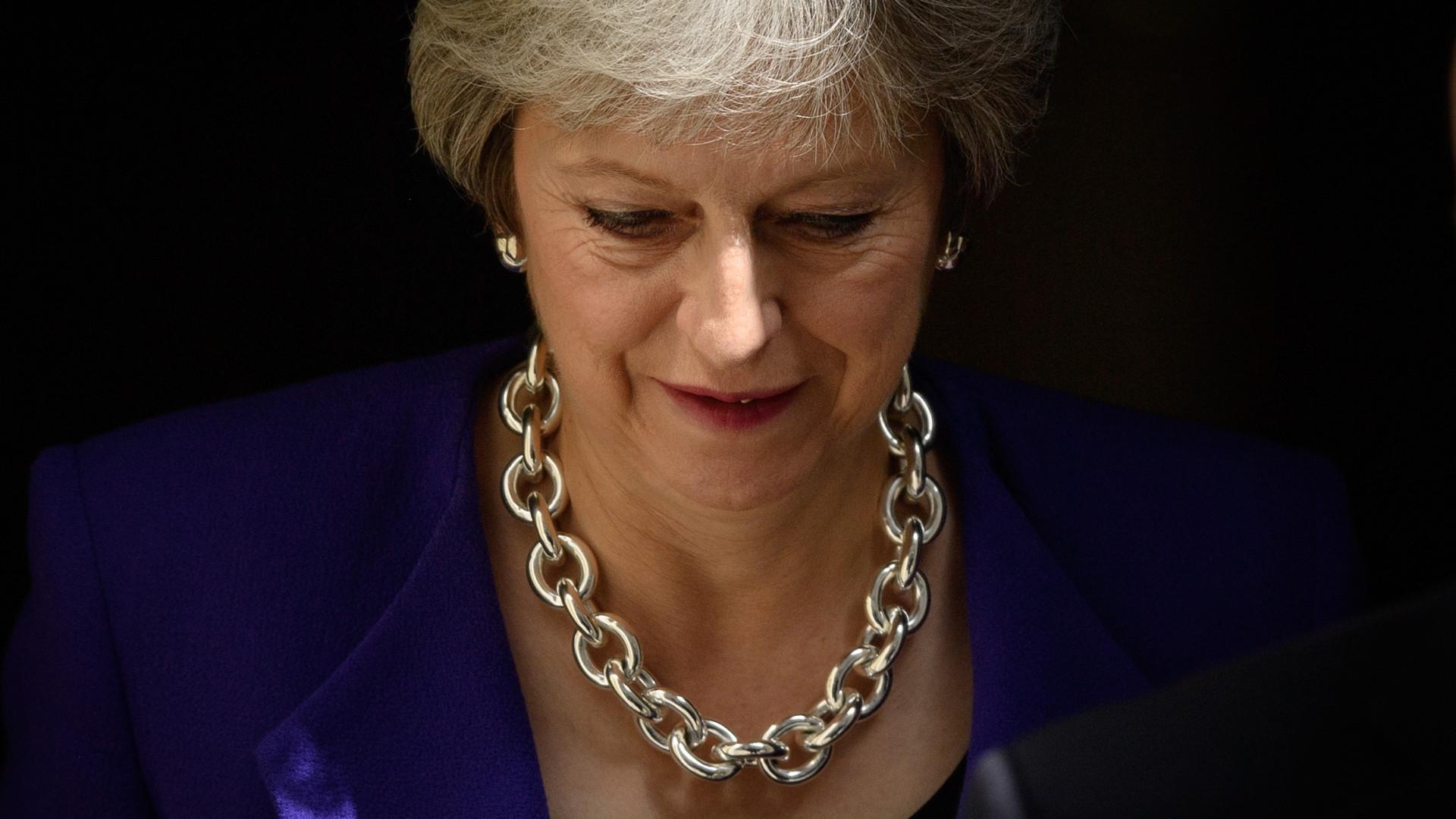 May não exclui extensão do período de transição após Brexit