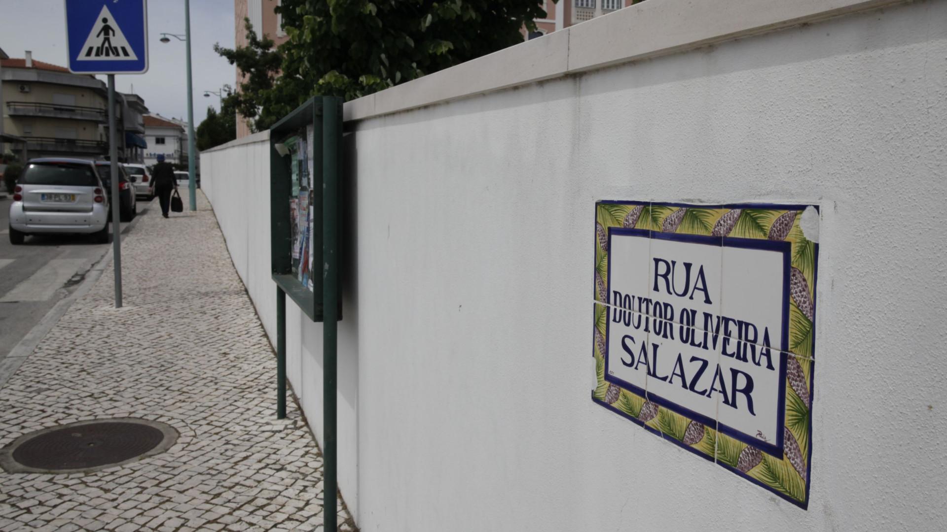 Figuras da ditadura (ainda) dão nome a várias ruas. Salazar são 15