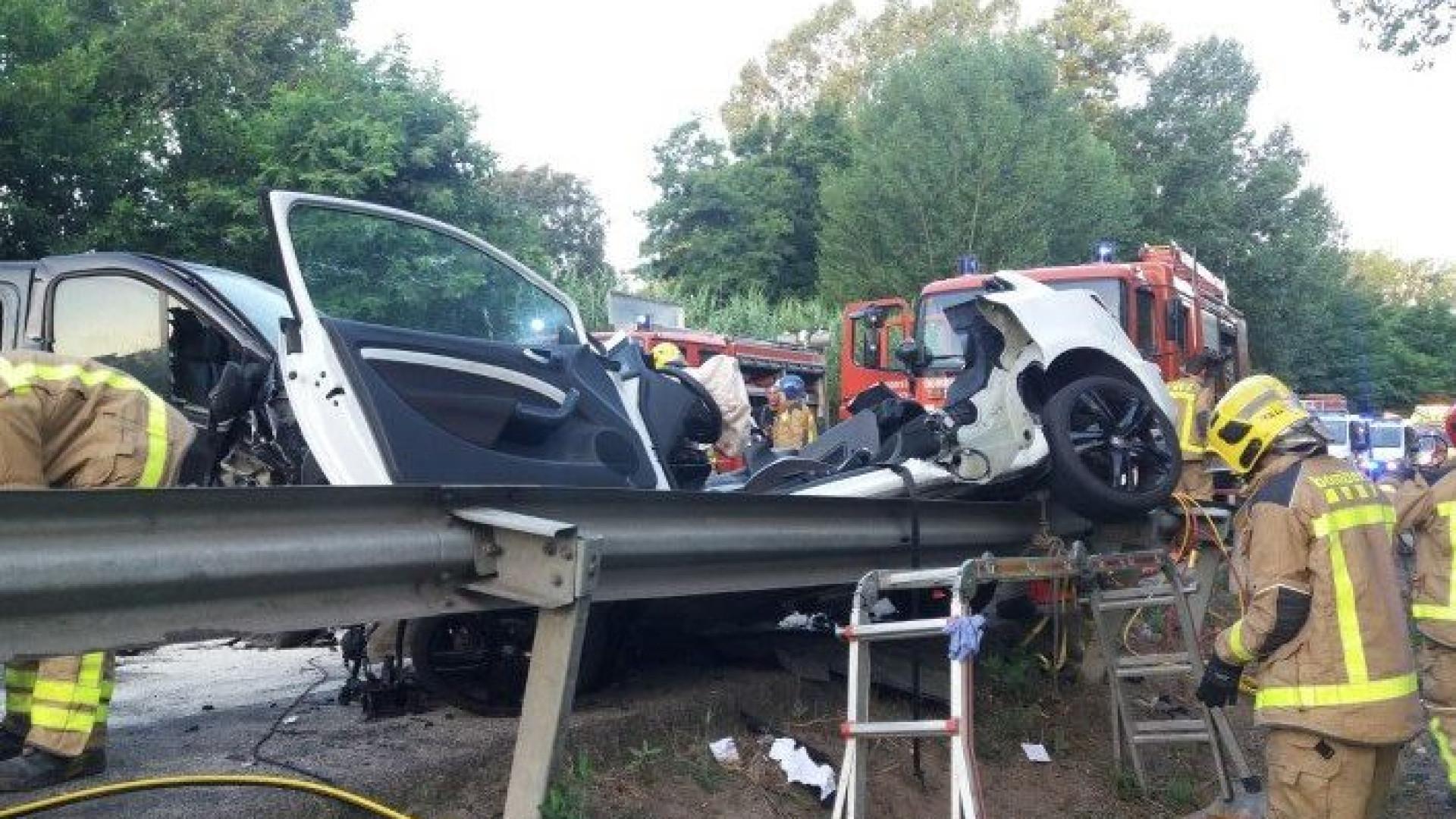 Quatro jovens morrem em acidente em Espanha. Tinham entre 23 e 29 anos