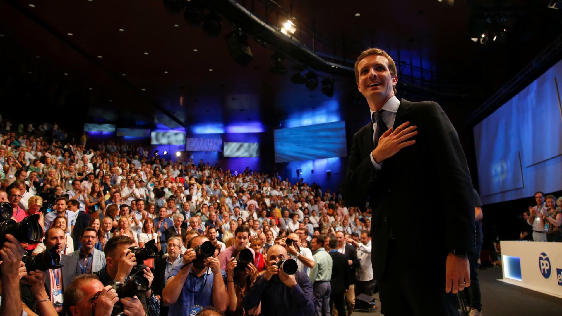 Líder do PP espanhol reúne-se no sábado com Rui Rio e Assunção Cristas