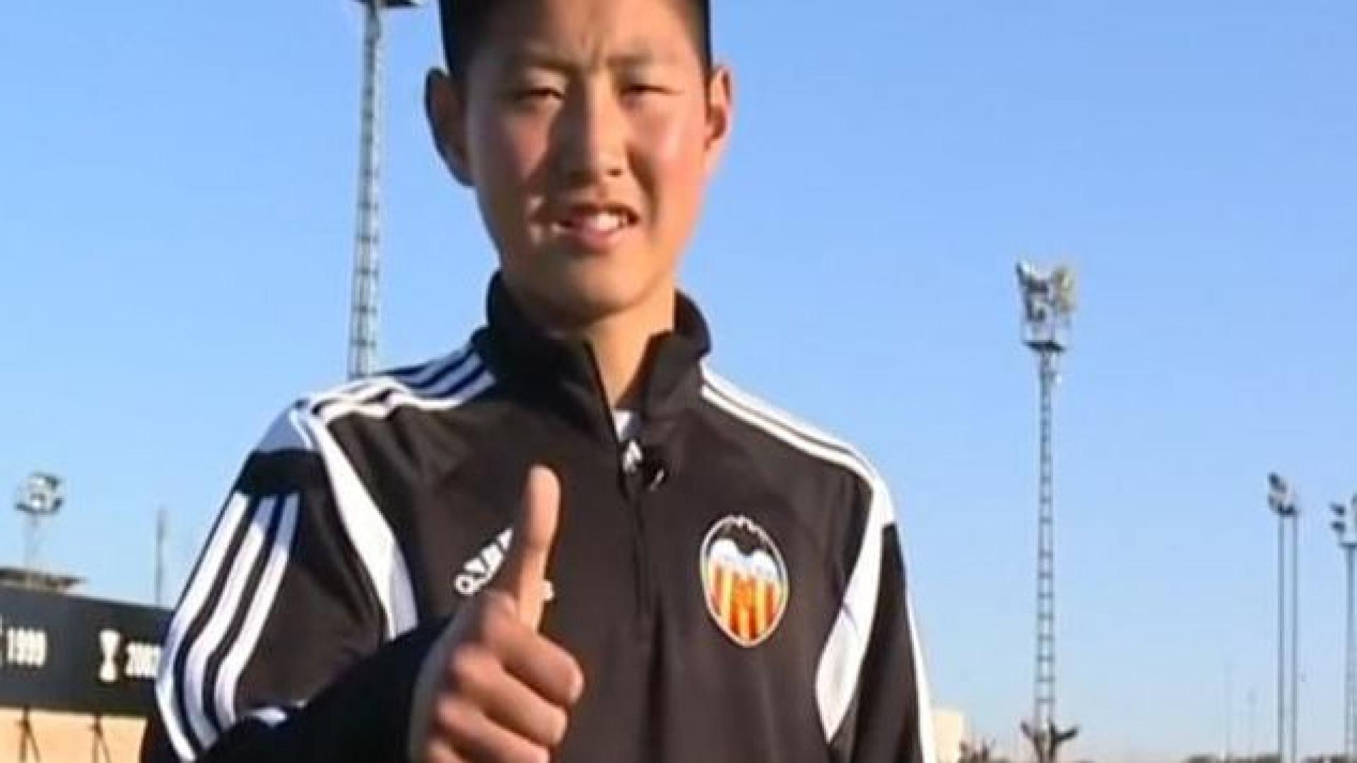 Valencia 'segura' prodígio sul-coreano com cláusula exorbitante