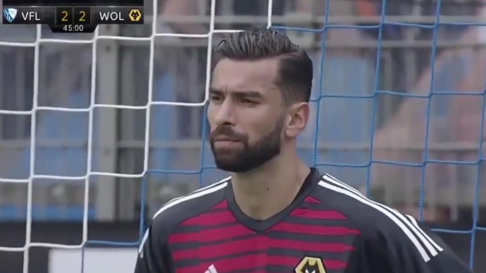 Rui Patrício estreia-se pelo Wolverhampton com dois penáltis defendidos