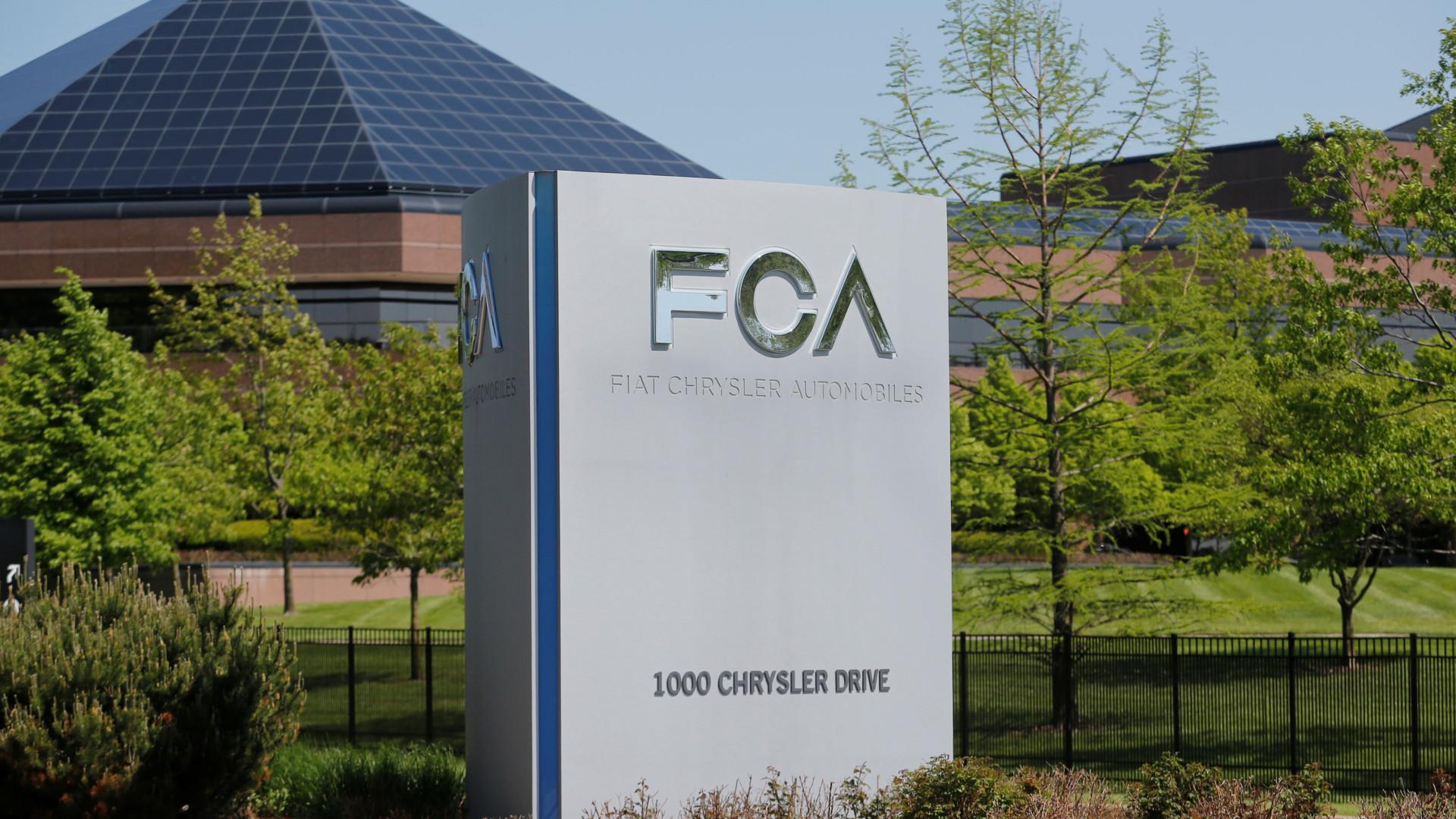 Fiat Chrysler aceita pagar 447 milhões para resolver caso de emissões