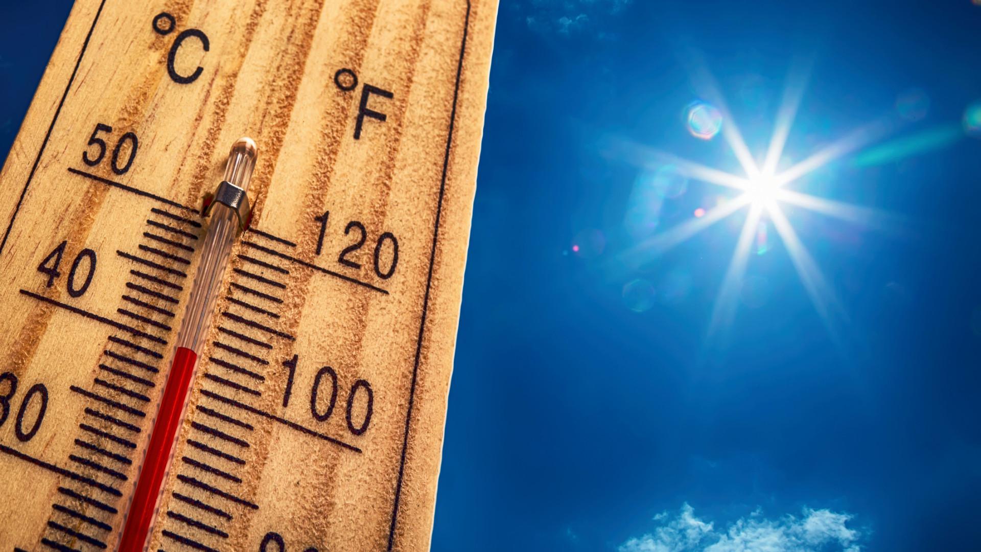 Aviso amarelo devido ao calor alargado até quarta-feira