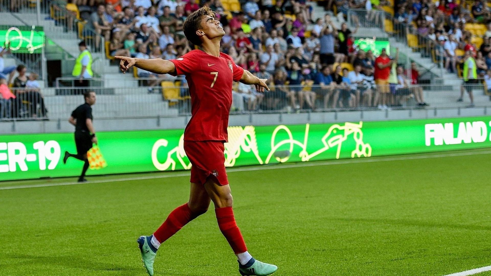 4997a602a1 Seleção Nacional venceu o Europeu da categoria sub-19 frente à Itália