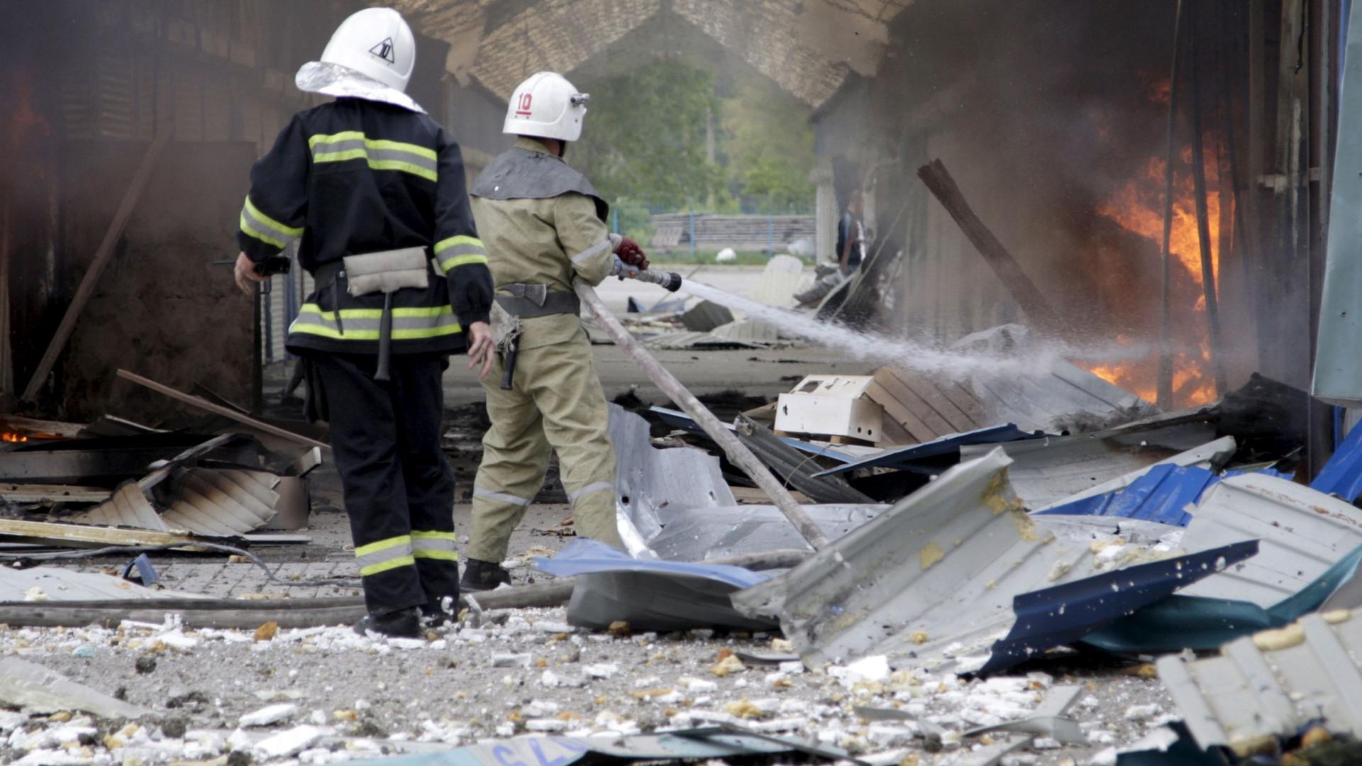 Explosão de gás na Rússia faz pelo menos um morto e sete feridos