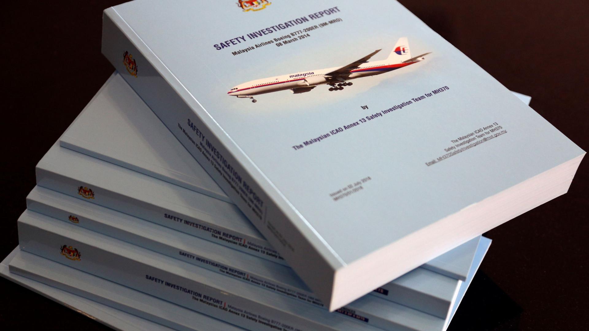 Familiares dos desaparecidos do MH370 revoltados com relatório de buscas