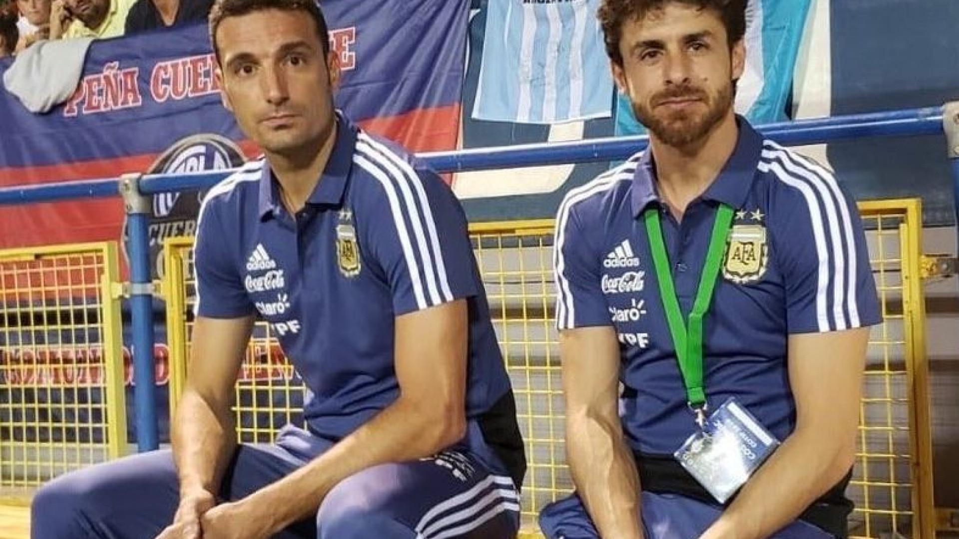 8f73b7e66f Aimar assume o comando da seleção argentina de forma provisória