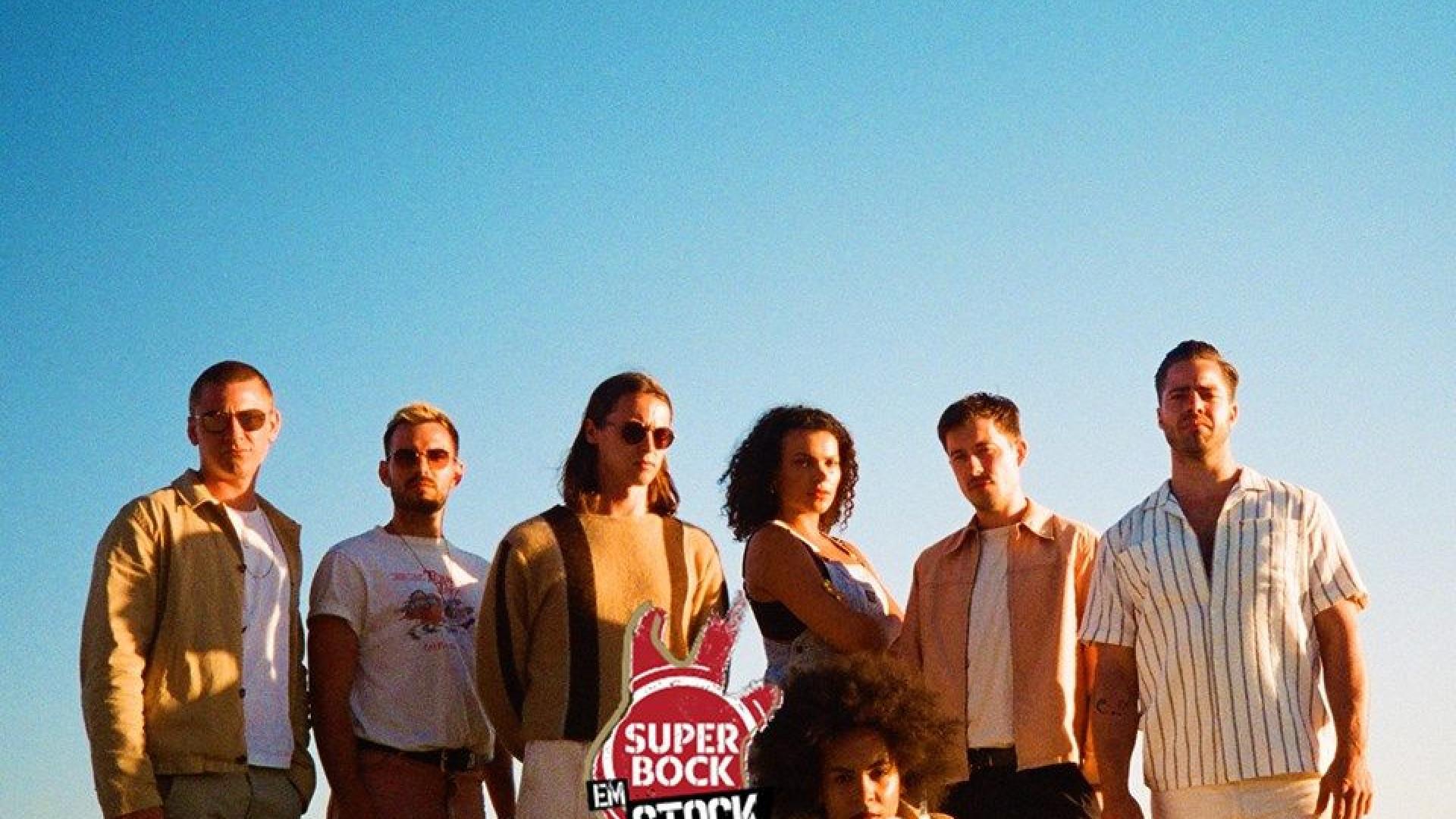 Jungle com data marcada para subir ao palco do Super Bock Super Bock
