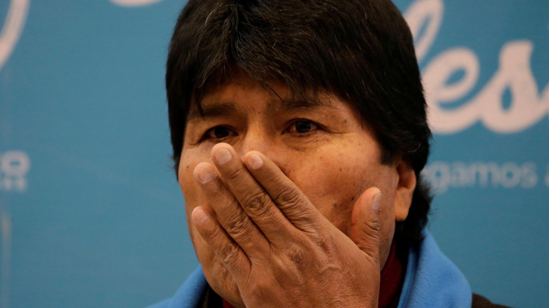 Saldo bancário do Presidente da Bolívia triplicou para 51 mil euros