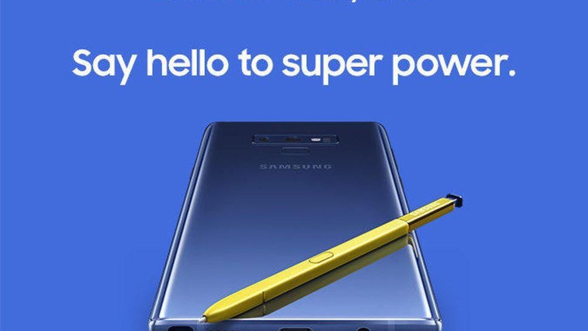 Preço do Galaxy Note 9 confirmado pela NOS. Prepare a carteira...
