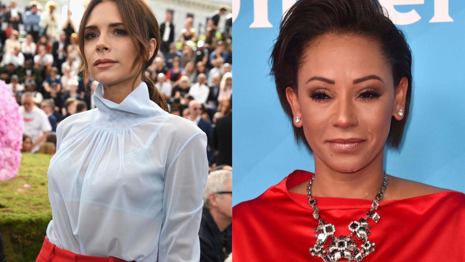 Clima pesado: Victoria Beckham muito irritada com Melanie Brown