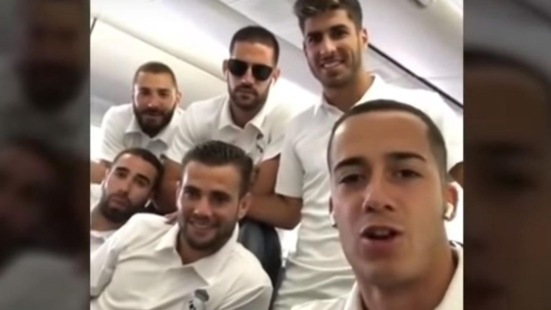 Prepare os aviões: Jogadores do Real Madrid têm novo grito de guerra