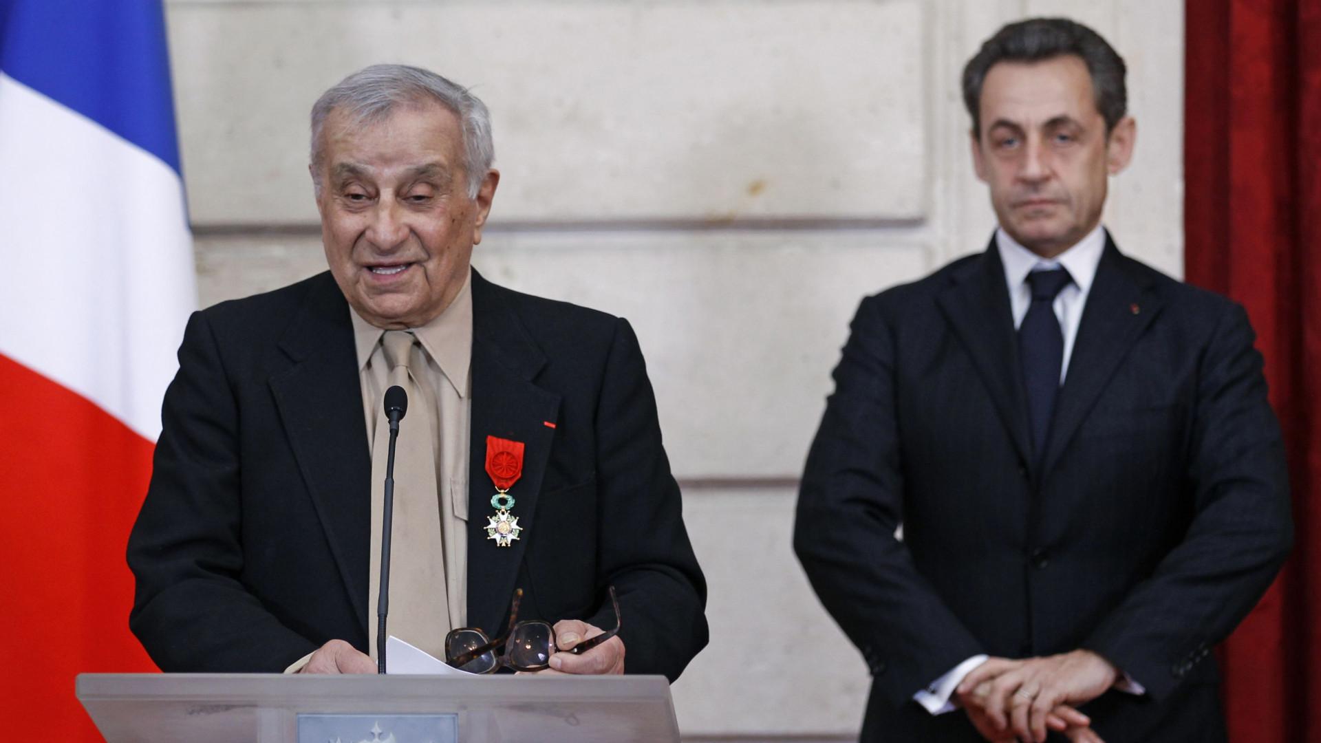 Morreu Arsène Tchkarian, herói da Resistência francesa. Tinha 101 anos