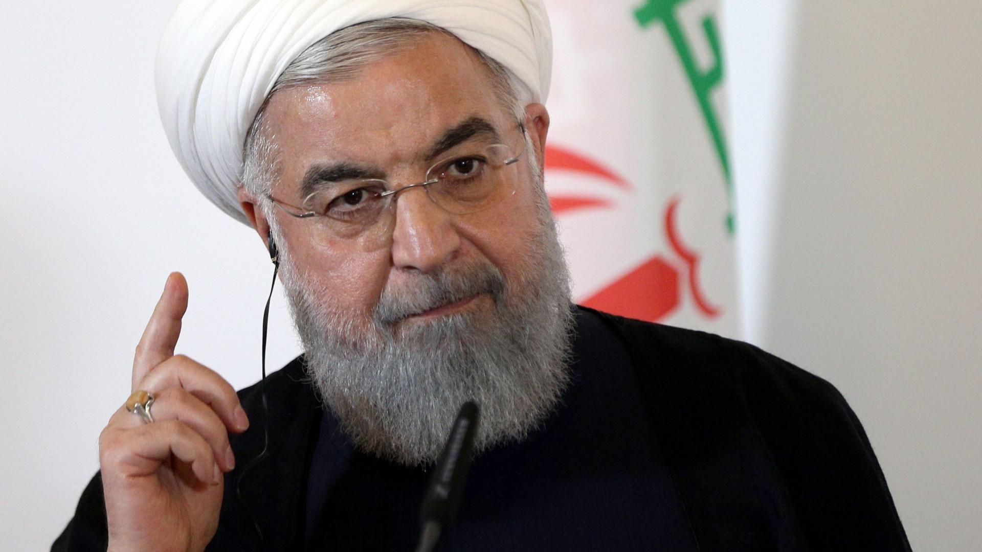 """Irão acusa EUA de fazer """"terrorismo económico"""" através das sanções"""
