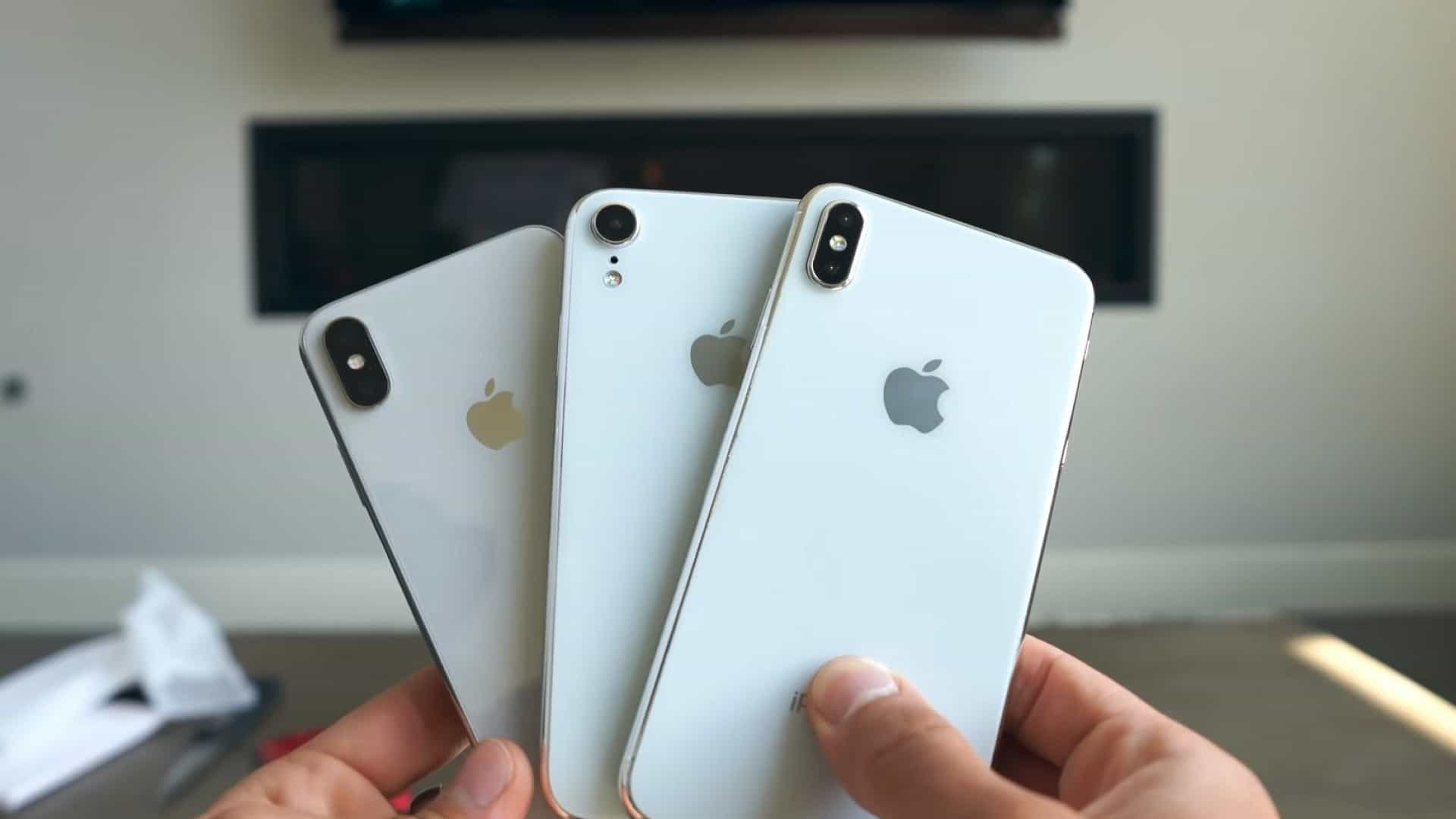 Os três próximos iPhones surgiram num novo vídeo