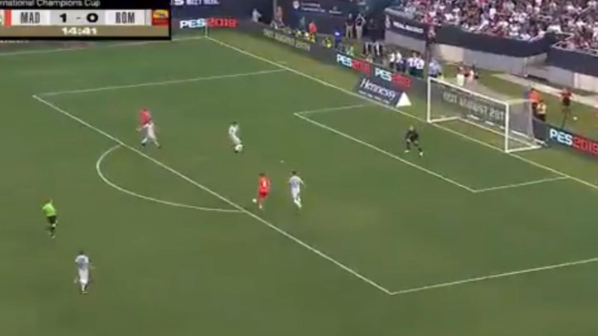 O melhor Bale está de volta: 'Arrumou' Marcano e marcou