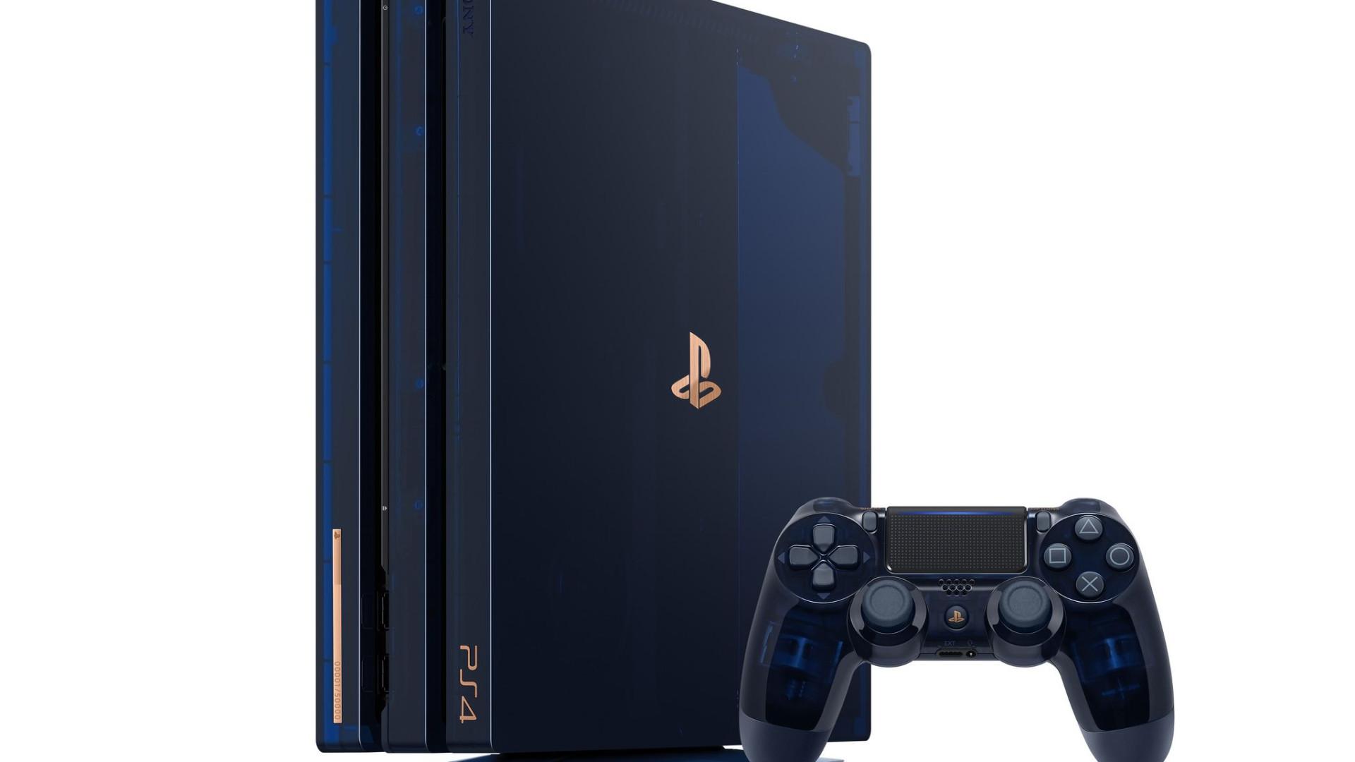 Nova PlayStation 4 celebra 500 milhões de consolas vendidas da marca