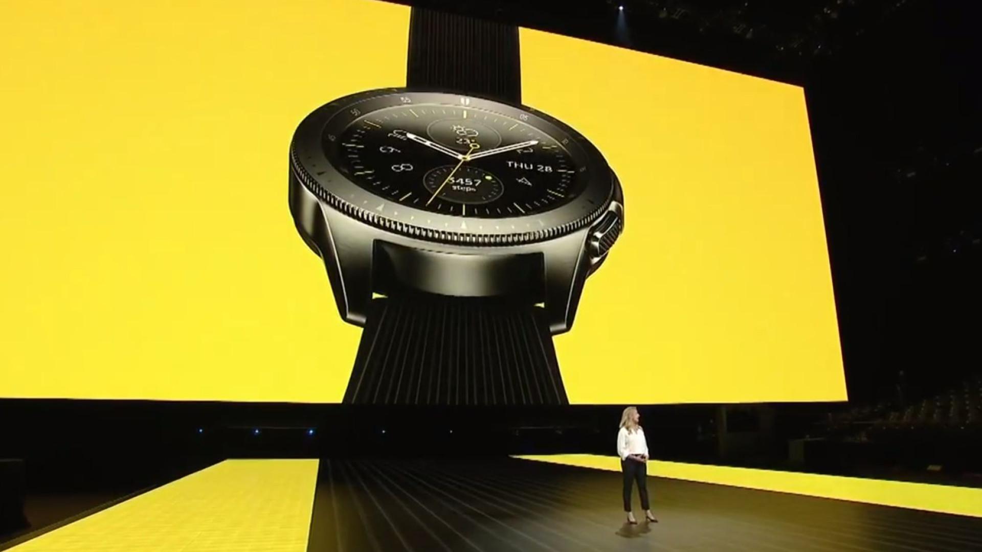 Galaxy Watch, o 'smartwatch' que se parece com um relógio