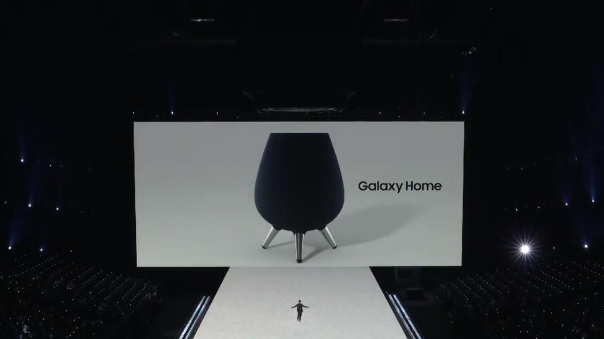 Aí está ela. Samsung anunciou oficialmente a sua coluna caseira