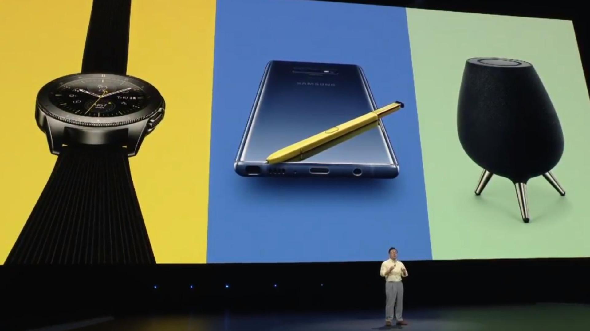 Galaxy Note 9 foi 'estrela' do evento da Samsung. Eis o que foi anunciado