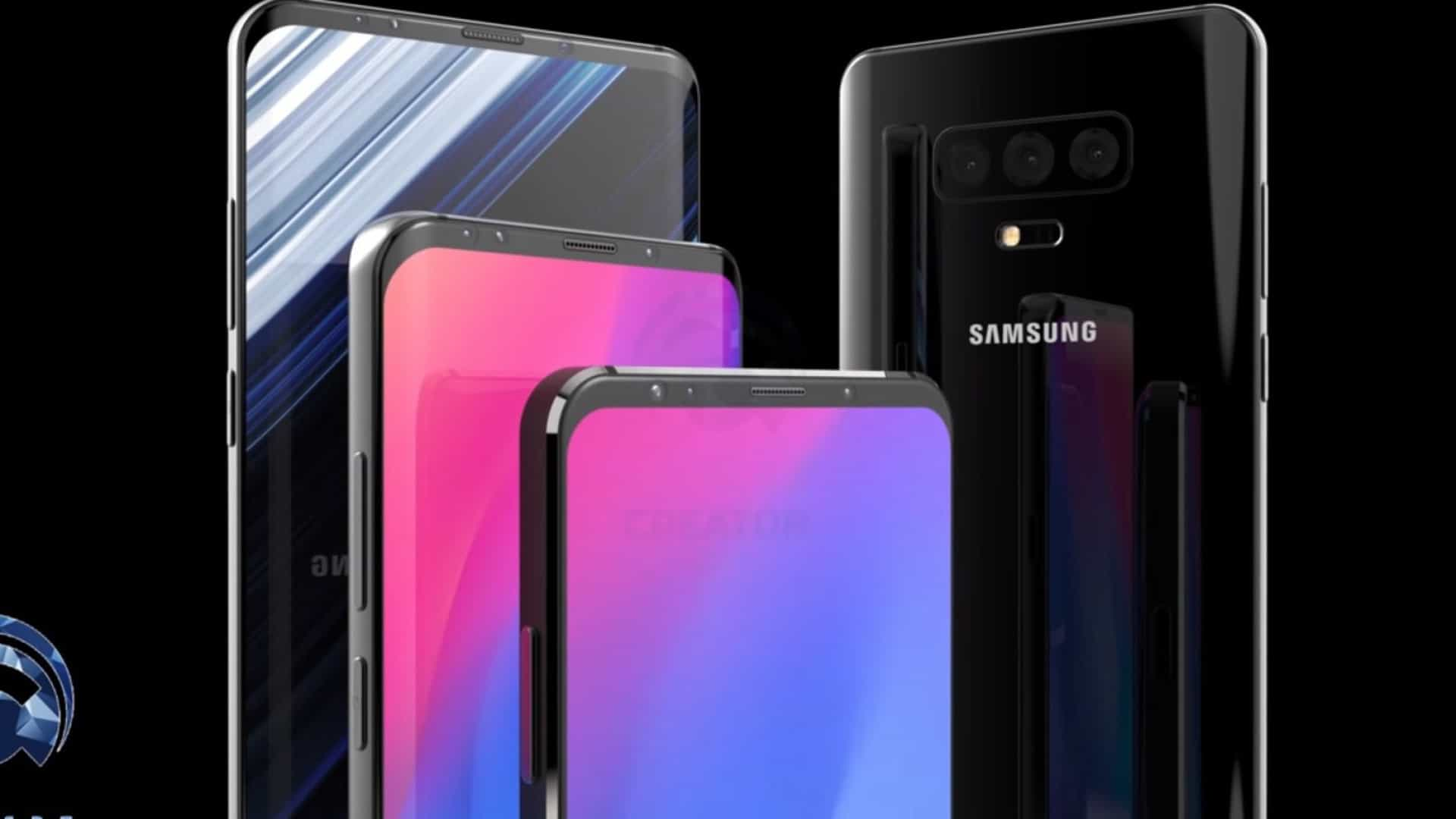 Vídeo mostra-lhe o 'concept' do Galaxy S10 que gostava de ter