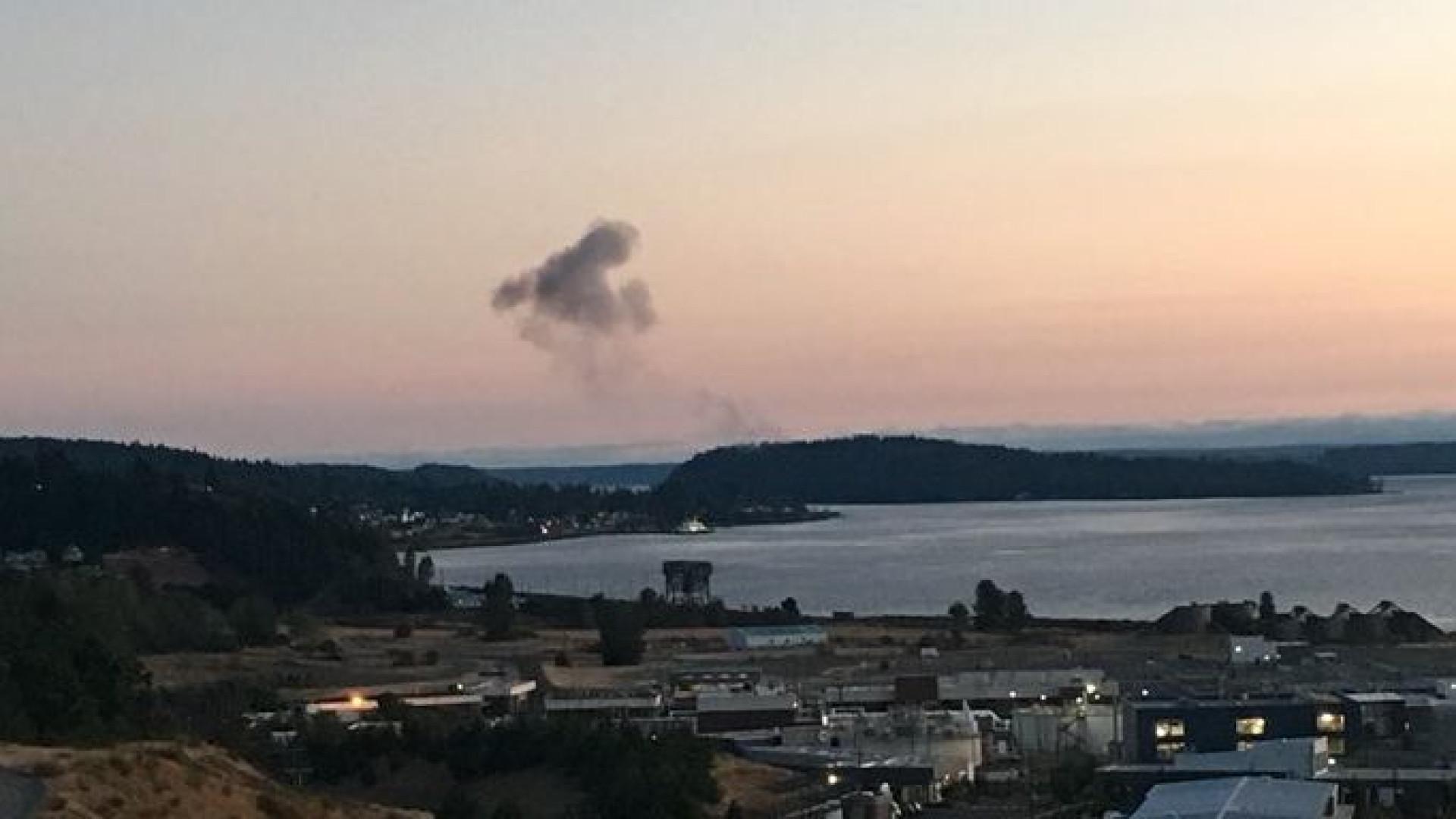 Avião roubado em Seattle despenha-se