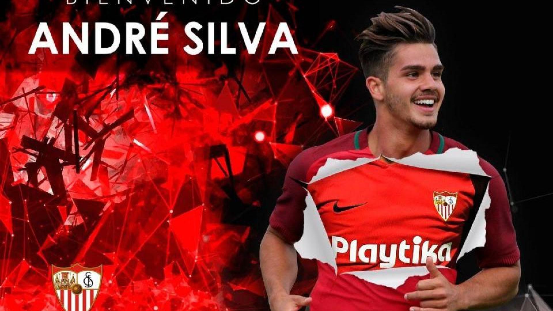 Oficial: André Silva é jogador do Sevilla por empréstimo do Milan