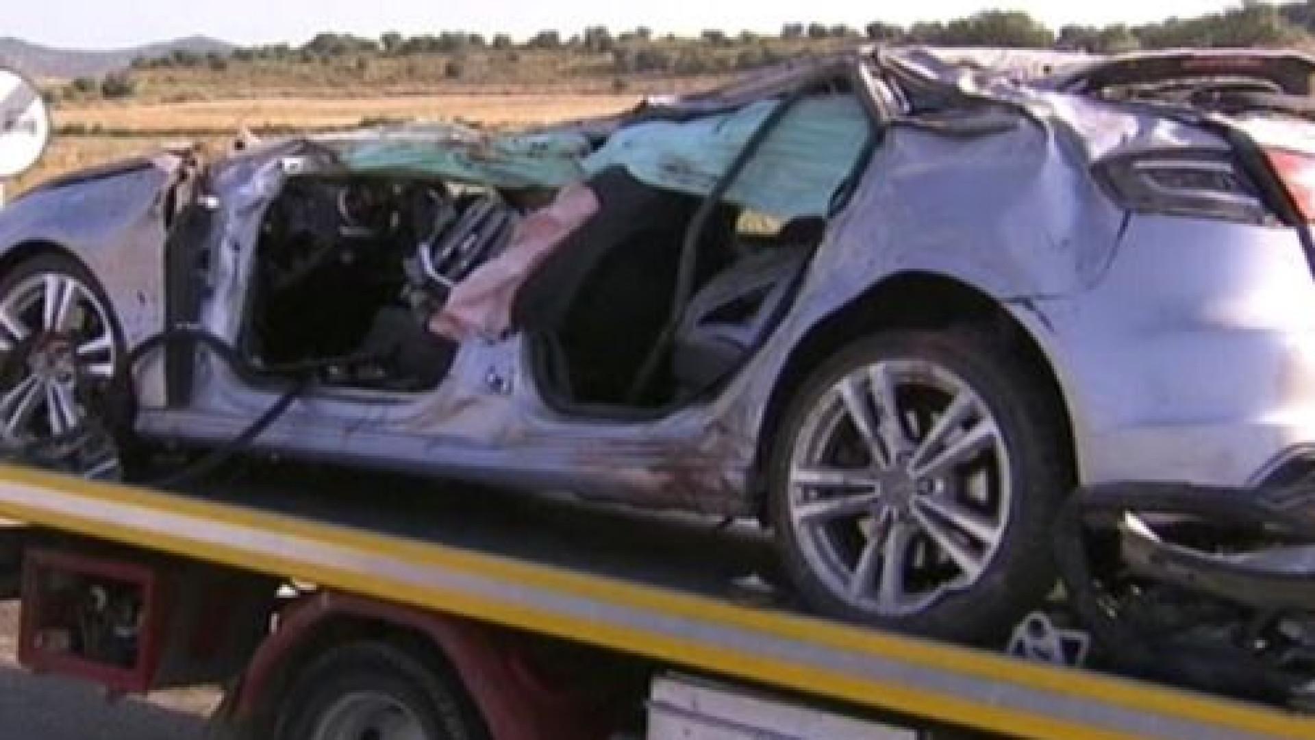 Acidente em Espanha: Três jovens morrem e dois ficam feridos