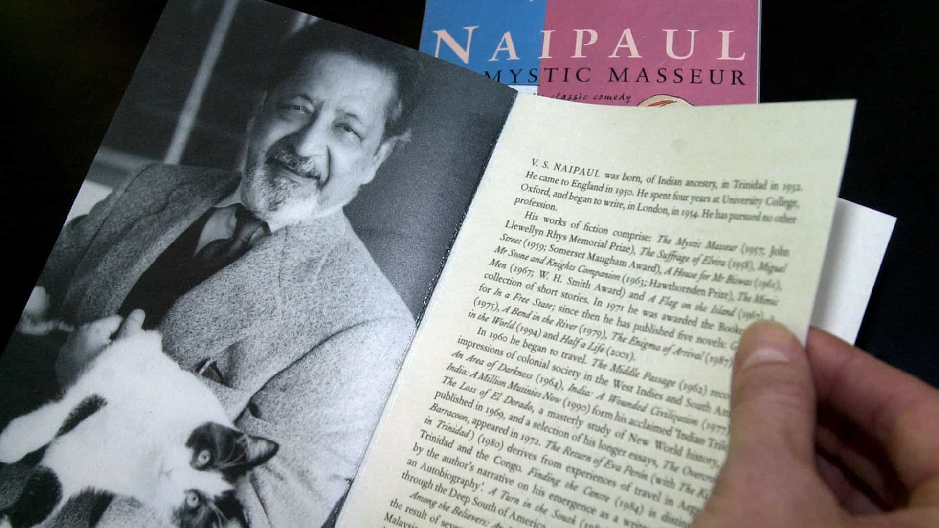 "Francisco José Viegas diz que Naipaul era ""um grande, grande autor"""