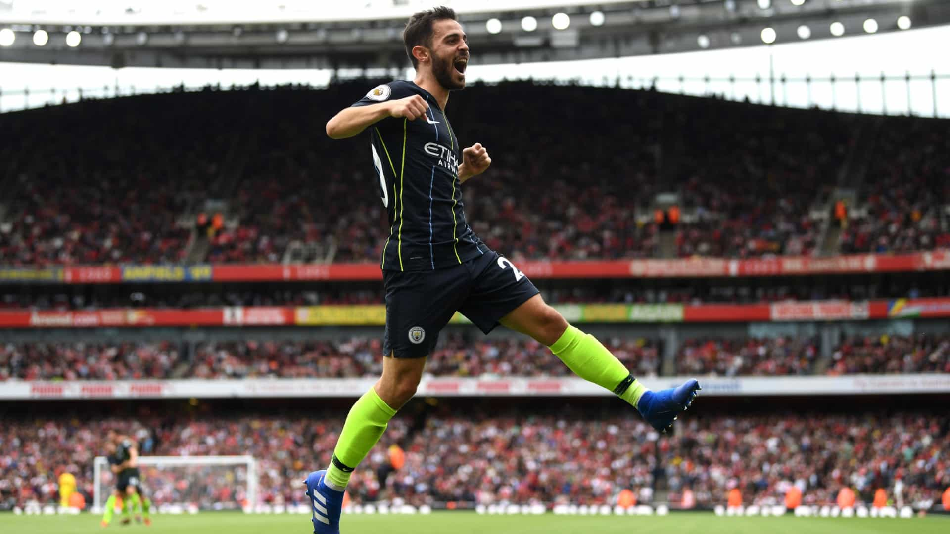 Premier League: Man. City bate Arsenal com ajuda de Bernardo Silva