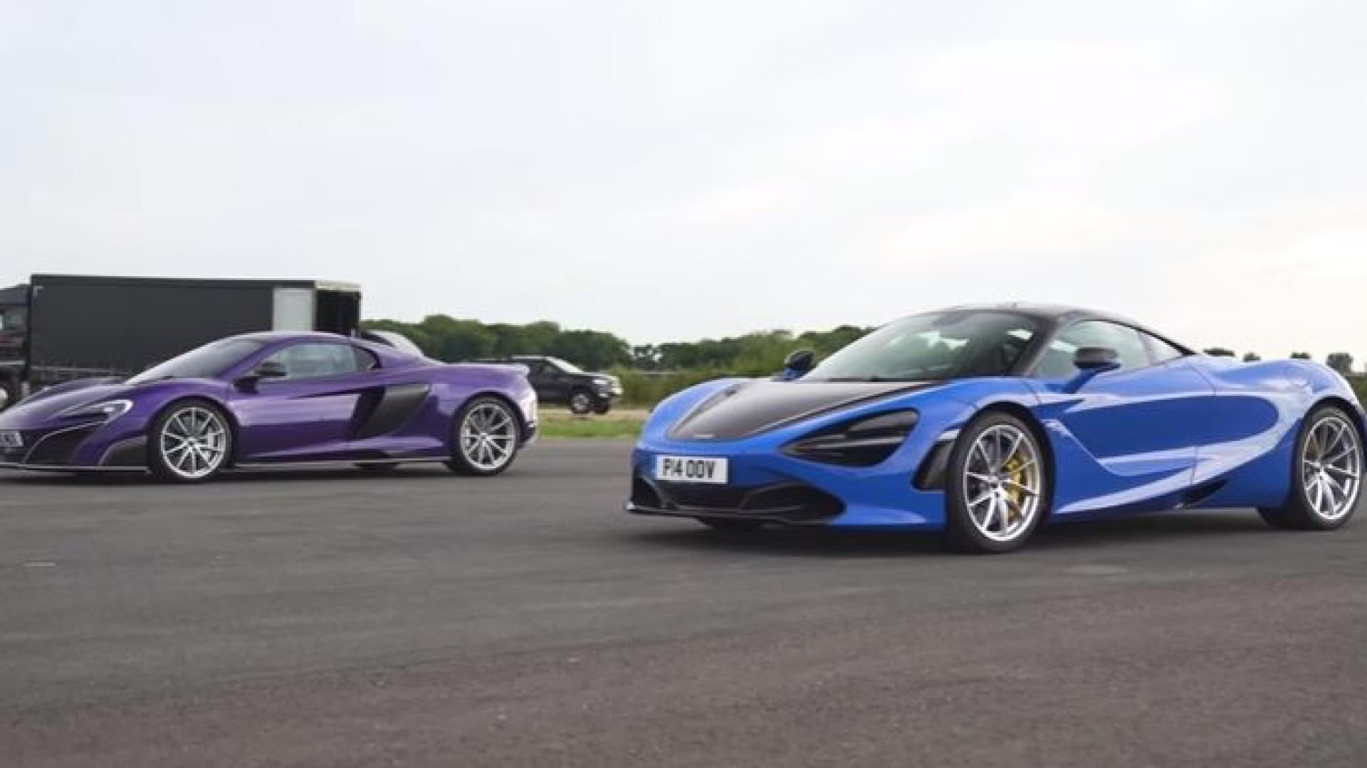 McLaren 720S contra 675LT: Duelo de titãs... mas só um vencedor