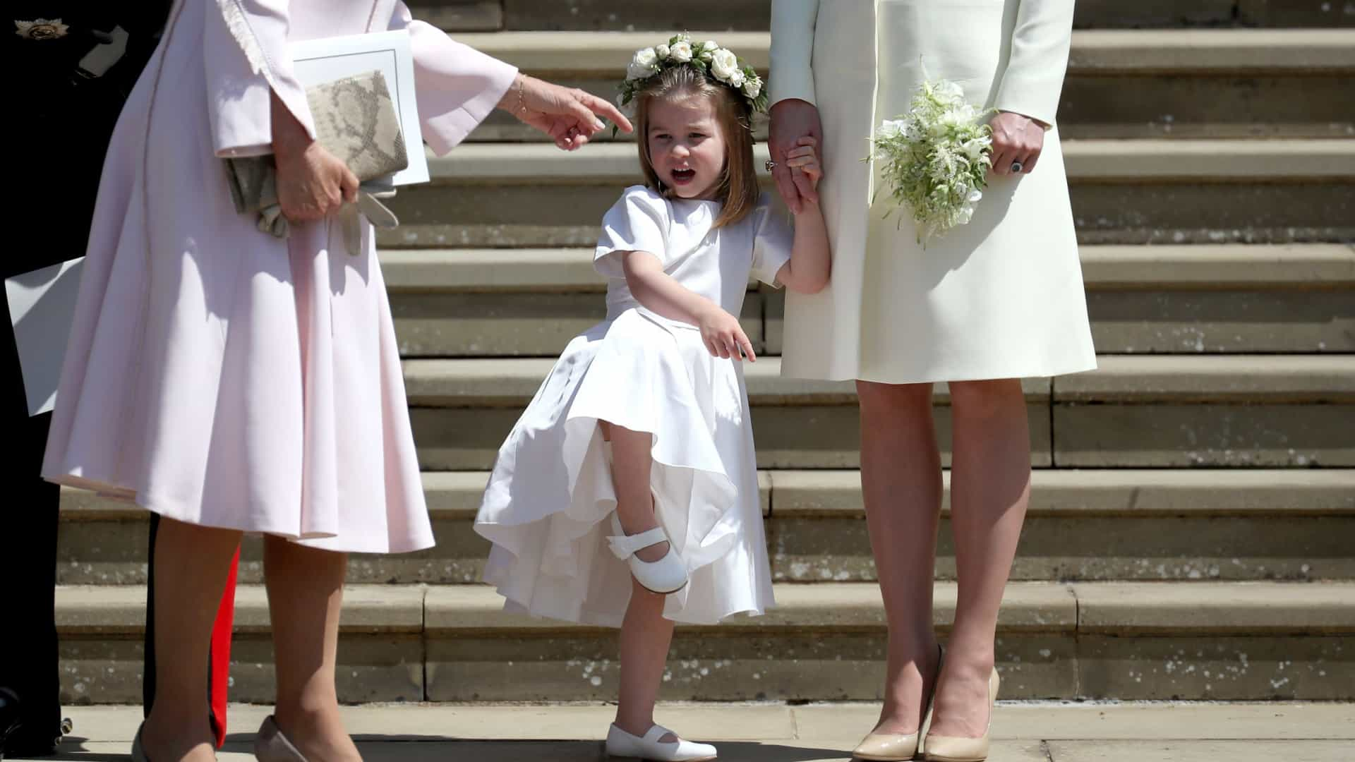 Por que Charlotte não receberá de imediato o título de princesa real