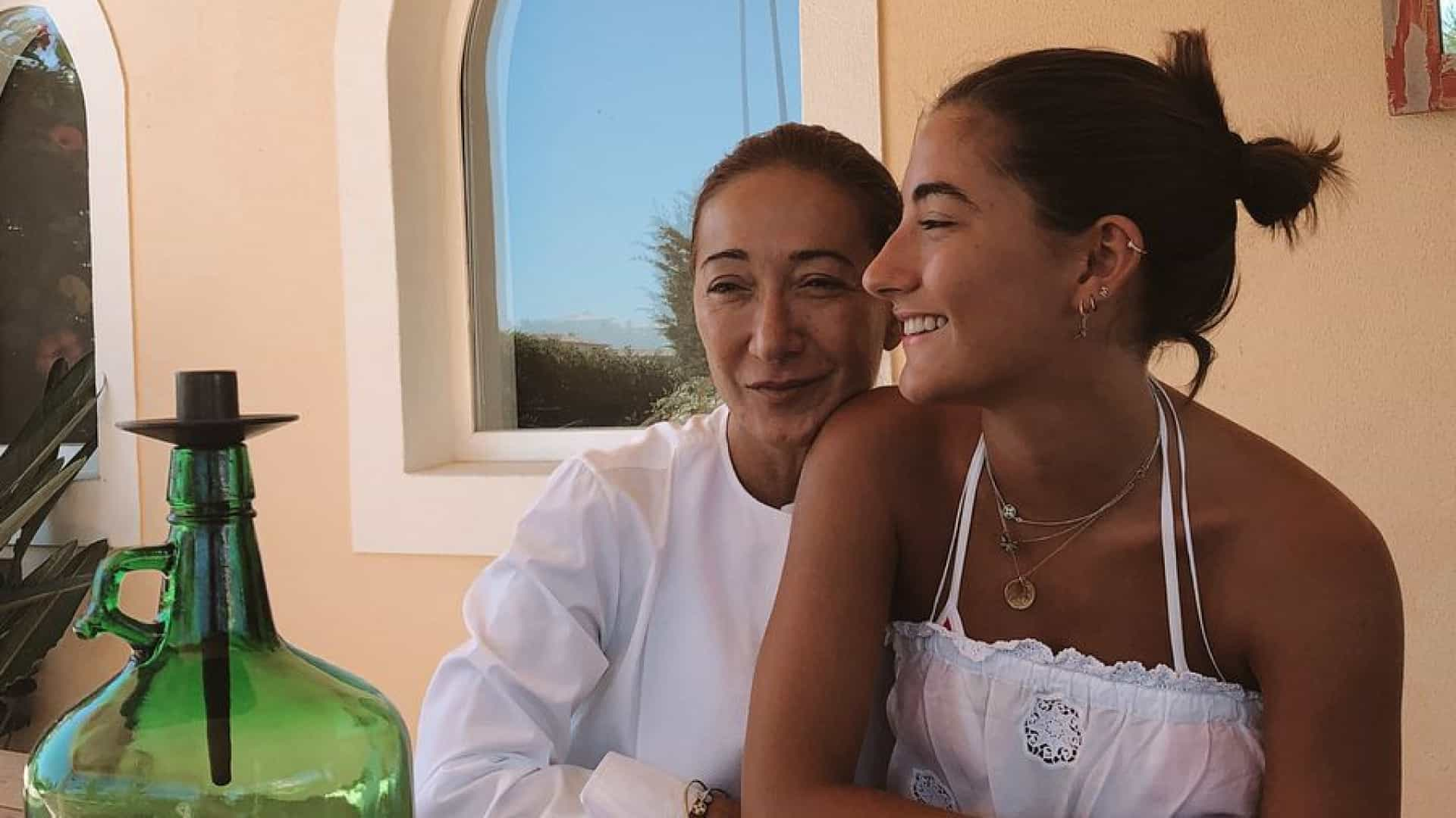 Matilde Mourinho homenageia mãe de forma divertida