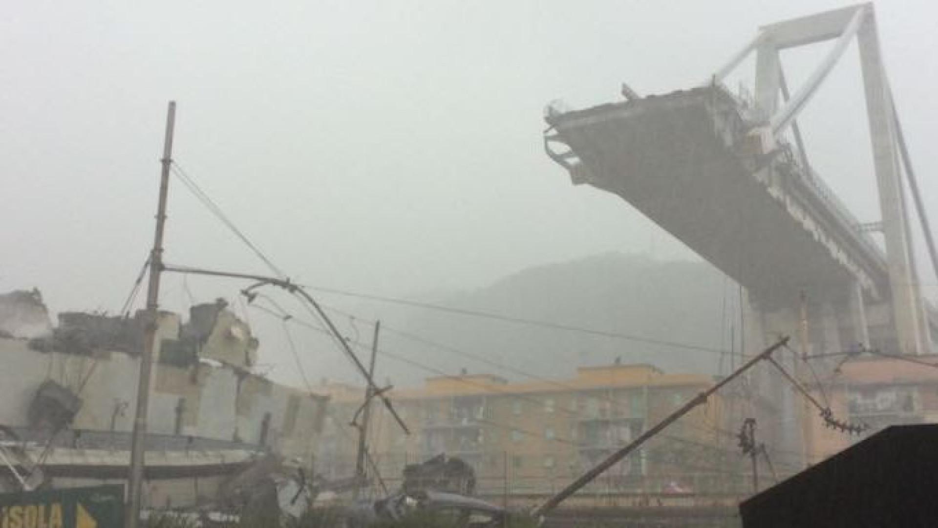 """""""Adivinha-se enorme tragédia"""" em Génova, diz ministro italiano"""