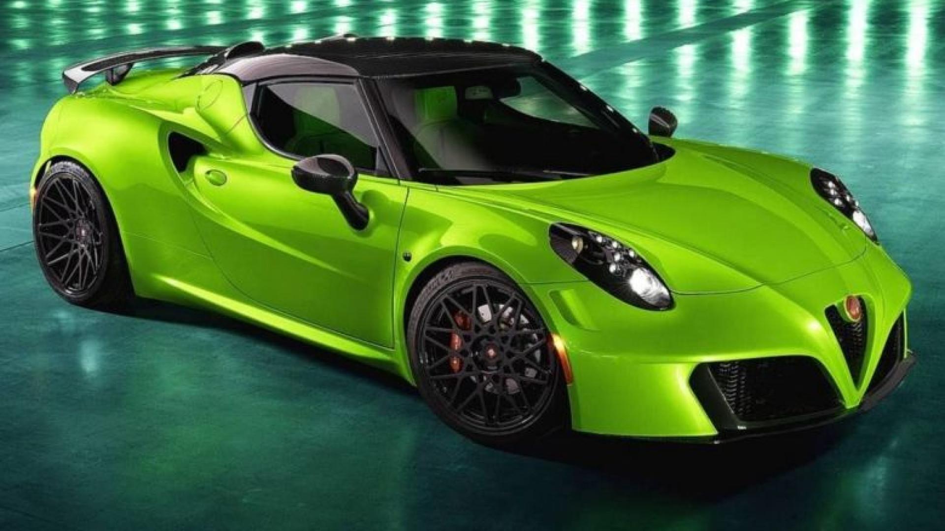 Pogea Racing fez do Alfa Romeo 4C uma 'flecha verde'