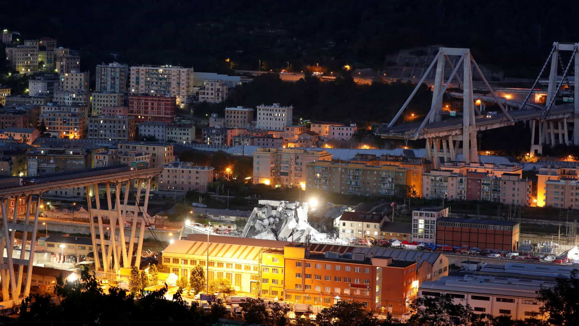 Génova anuncia projeto de 200 milhões para substituir ponte que colapsou