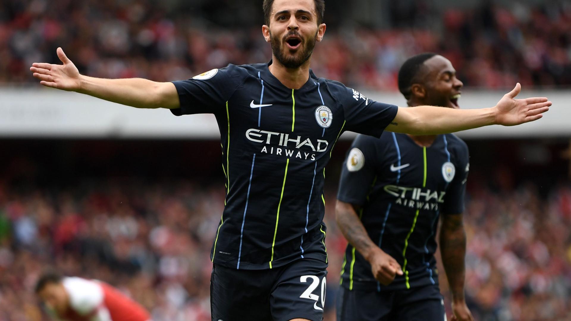 3a23d1ce41 Dérbi de Manchester já ferve  Bernardo Silva deixa  aviso  a Mourinho