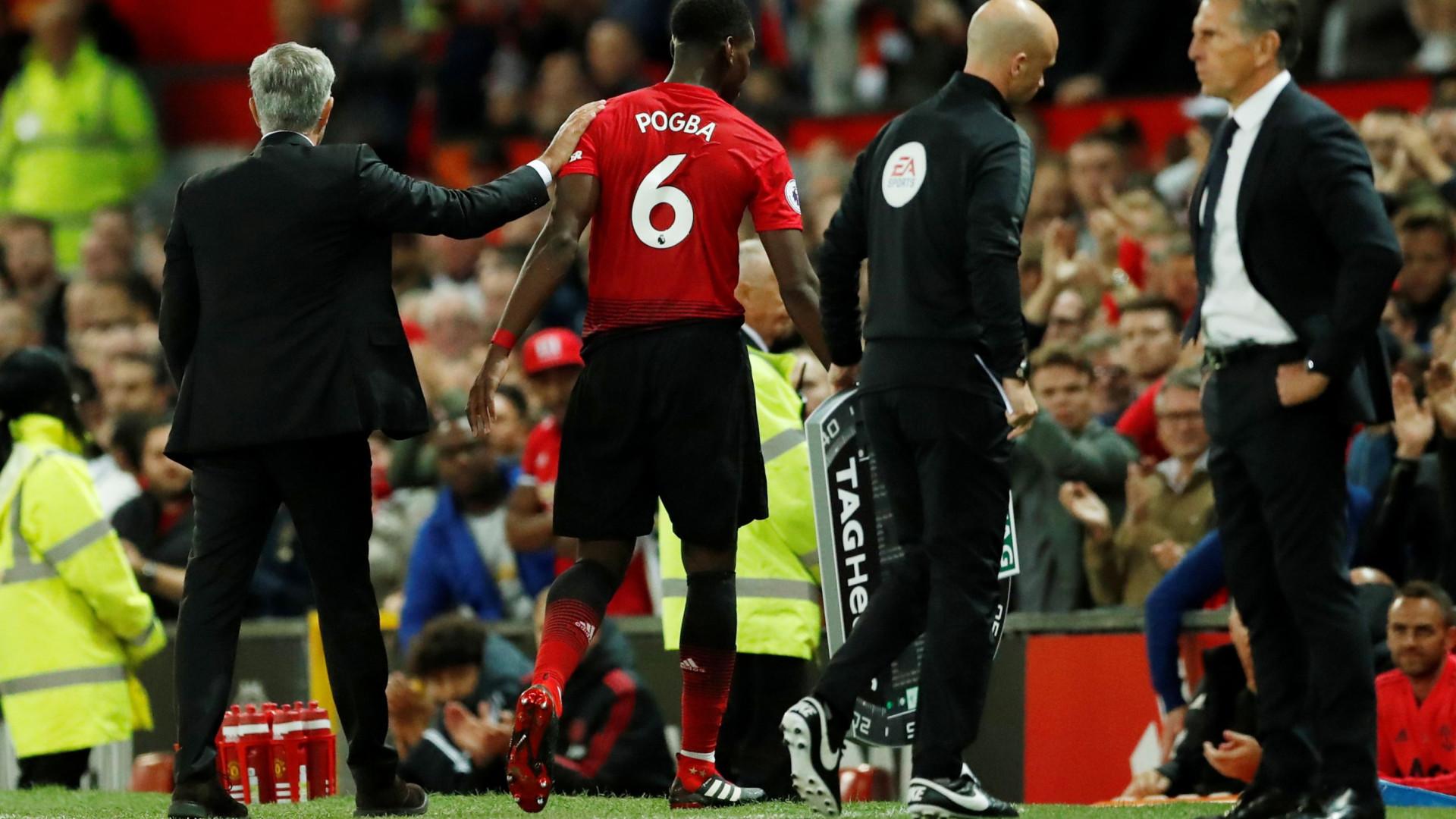 Novo 'bate boca' azeda ainda mais a relação entre Mourinho e Pogba