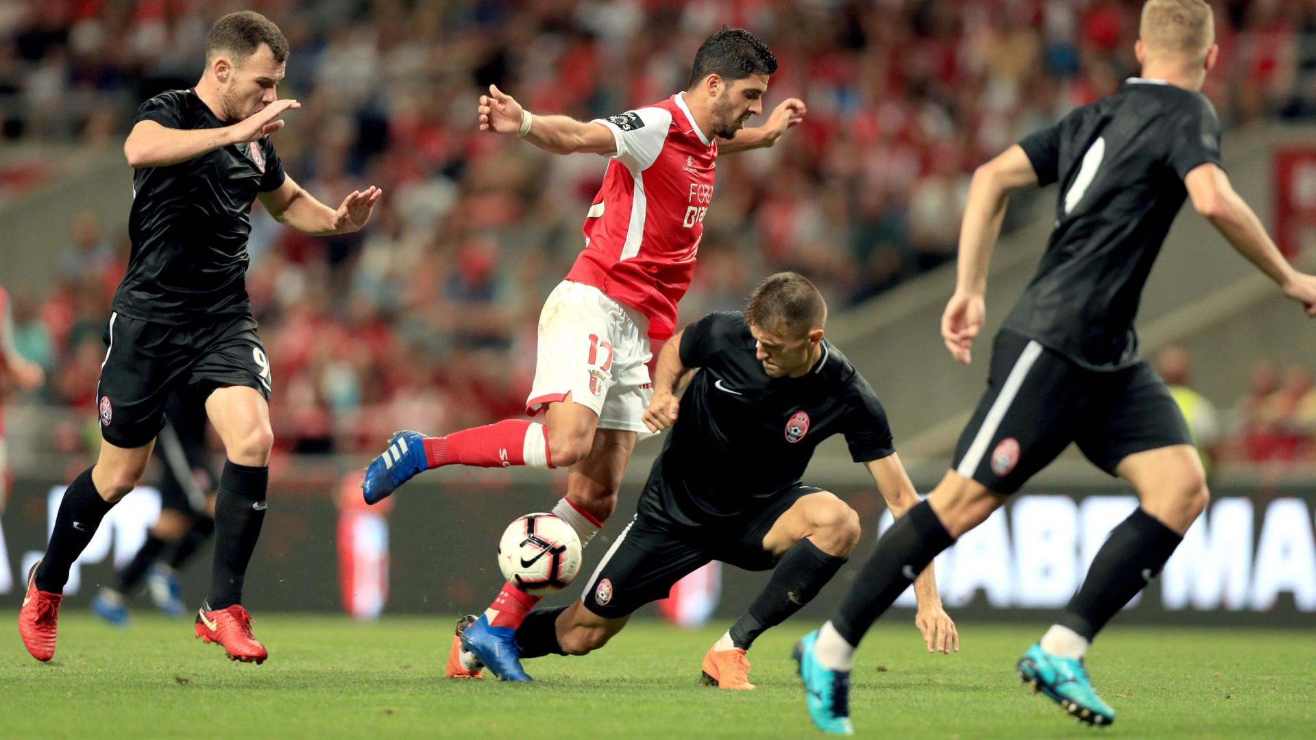 AC Milan esteve no Aves-Braga a tirar notas sobre dois 'guerreiros'