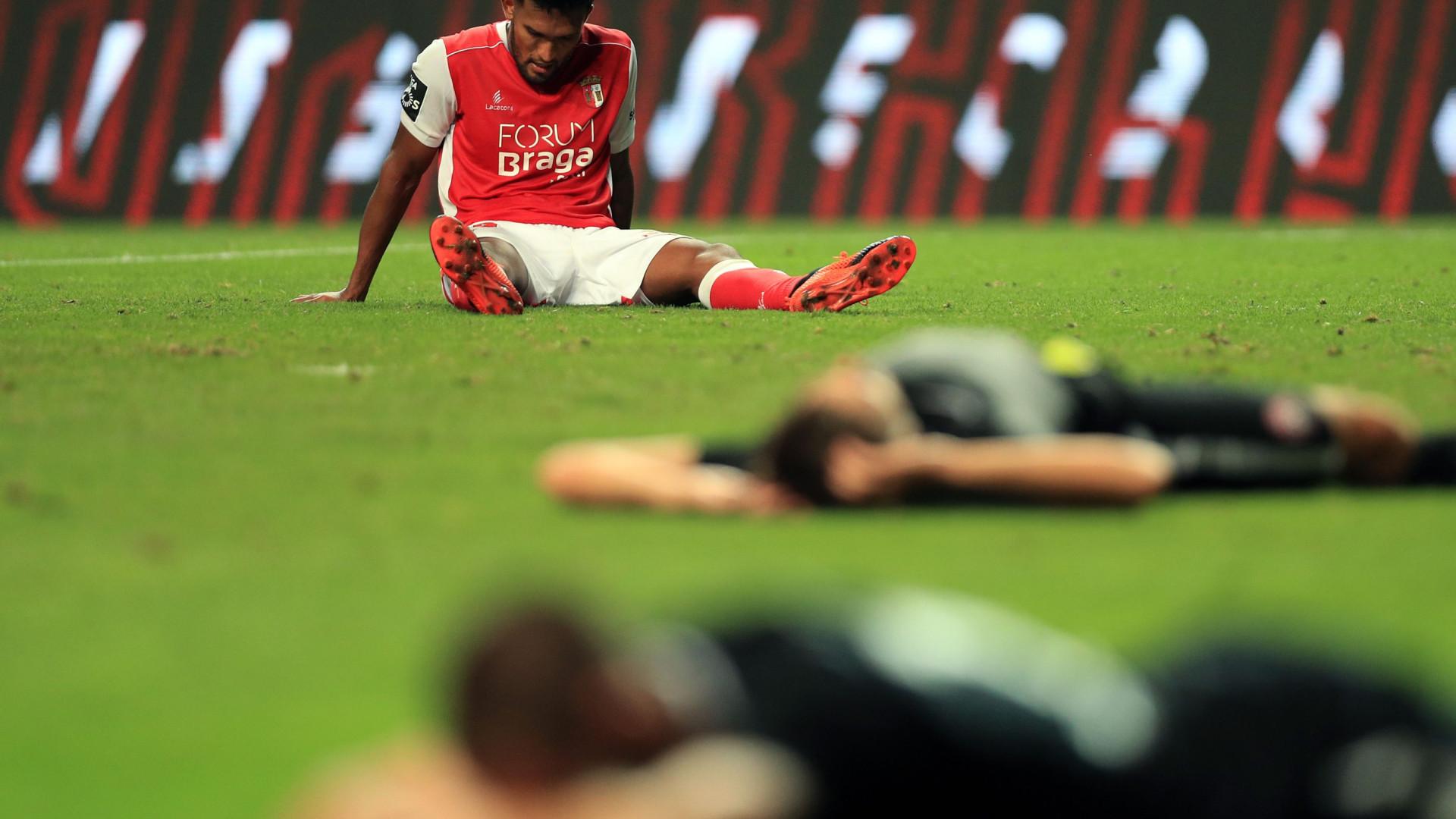 Ranking UEFA: 'Adeus' do Sp. Braga faz pairar nuvem negra sobre Portugal