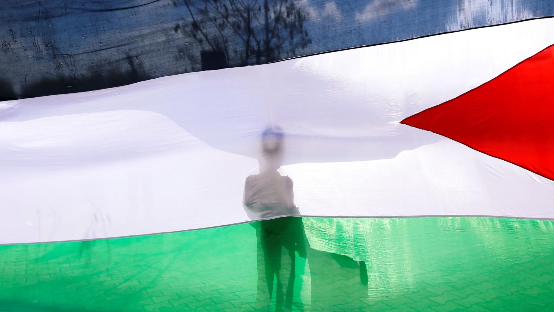 O correio para a Palestina vai chegar oito anos depois