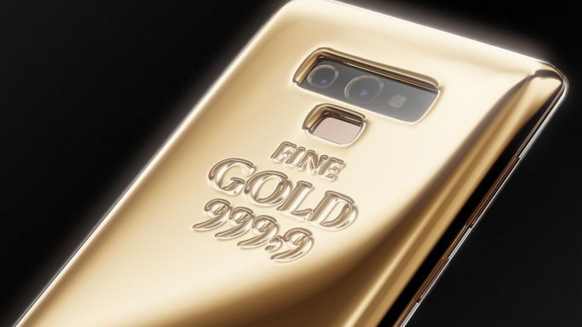Esta edição do Galaxy Note 9 custa 50 mil euros